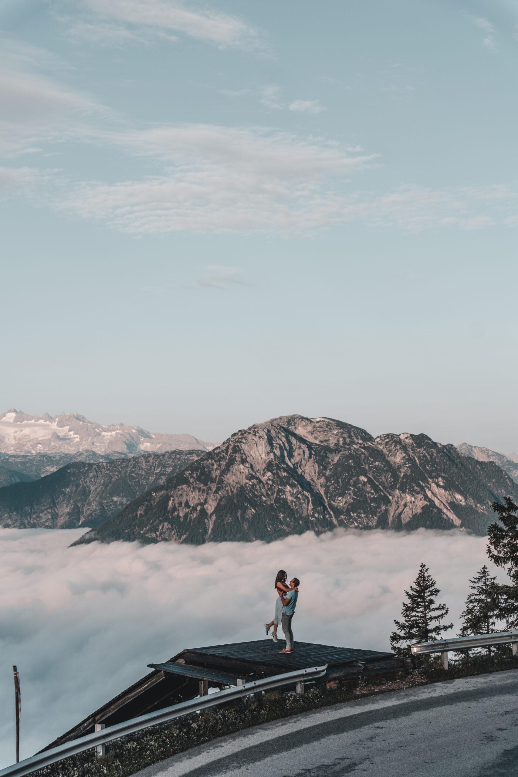 Above the clouds in Austria