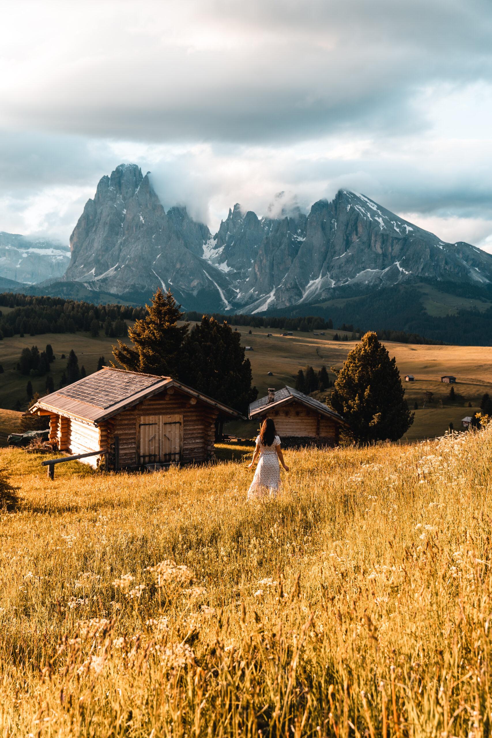 Alpe di Siusi in Italy