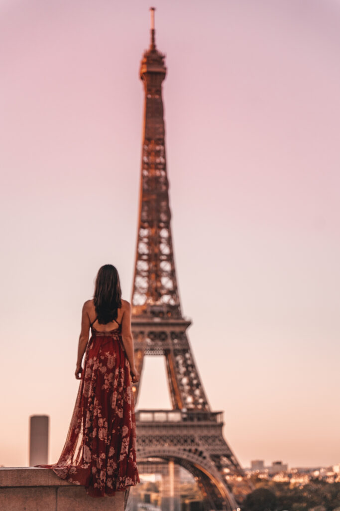 Best photo spots in Paris for women | Trocadéro