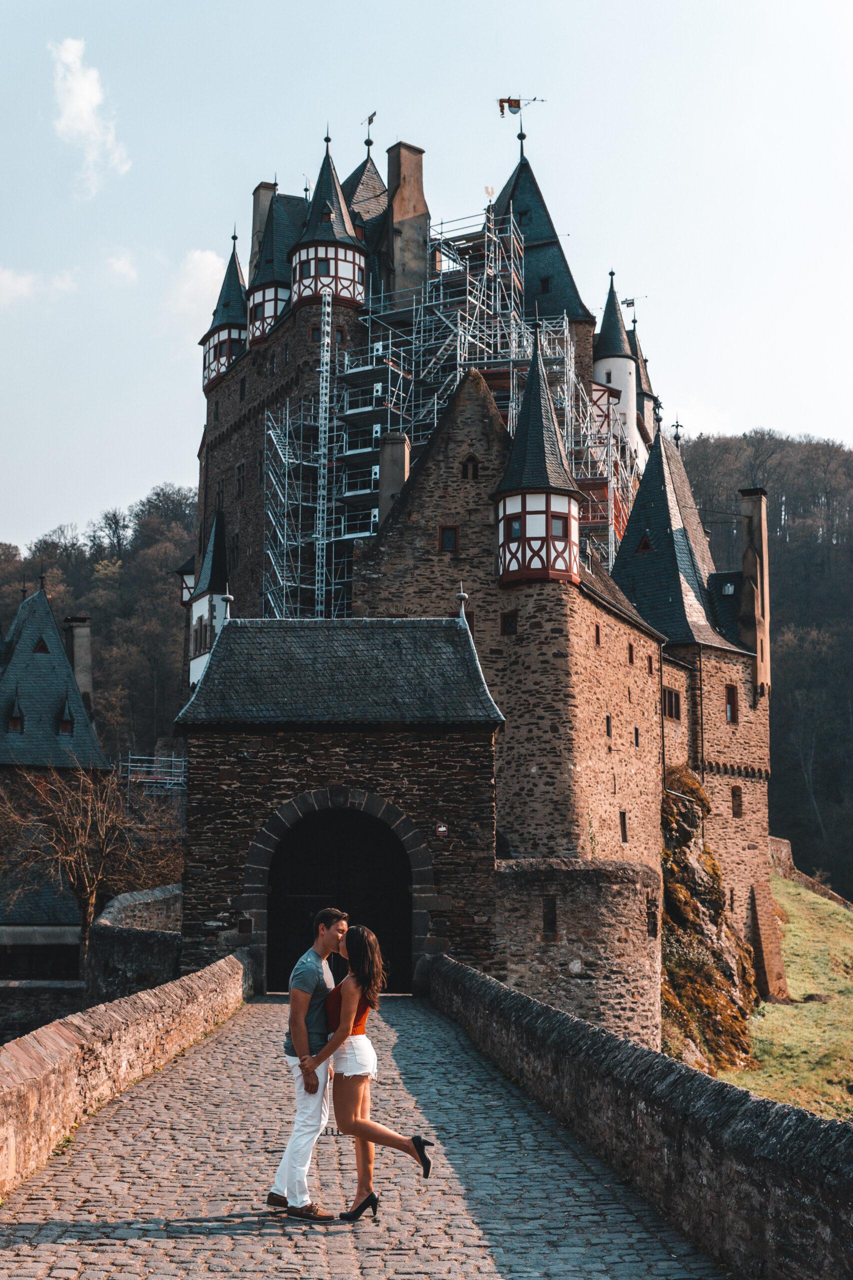 Burg Eltz in Wierschem Germany |Beautiful Castles in Germany