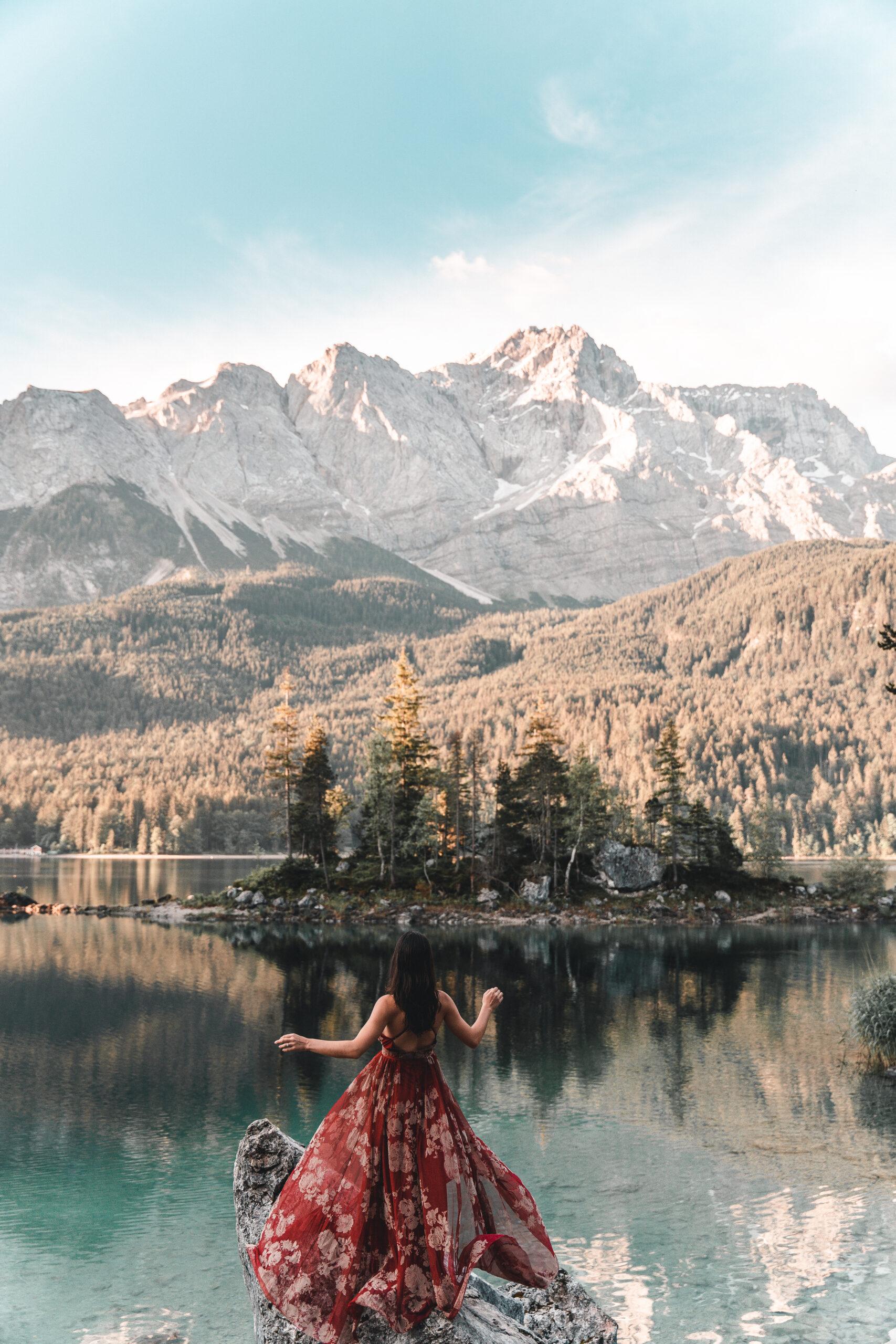 Eibsee Bayern |Lake Eib Bavaria |Zugspitze