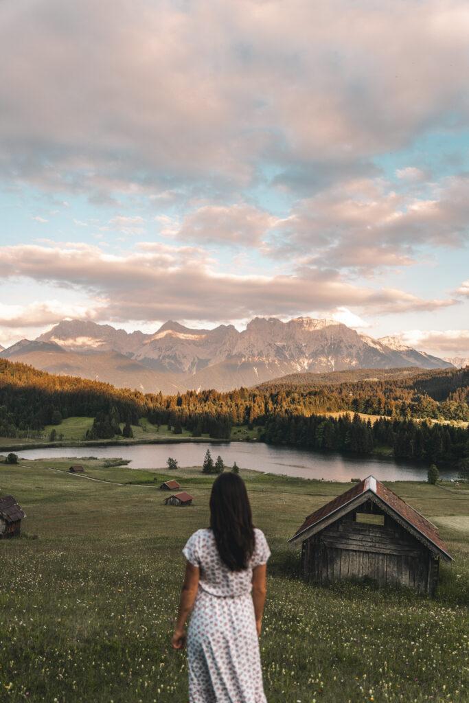 Garmisch Partenkirchen | Geroldsee Sunset