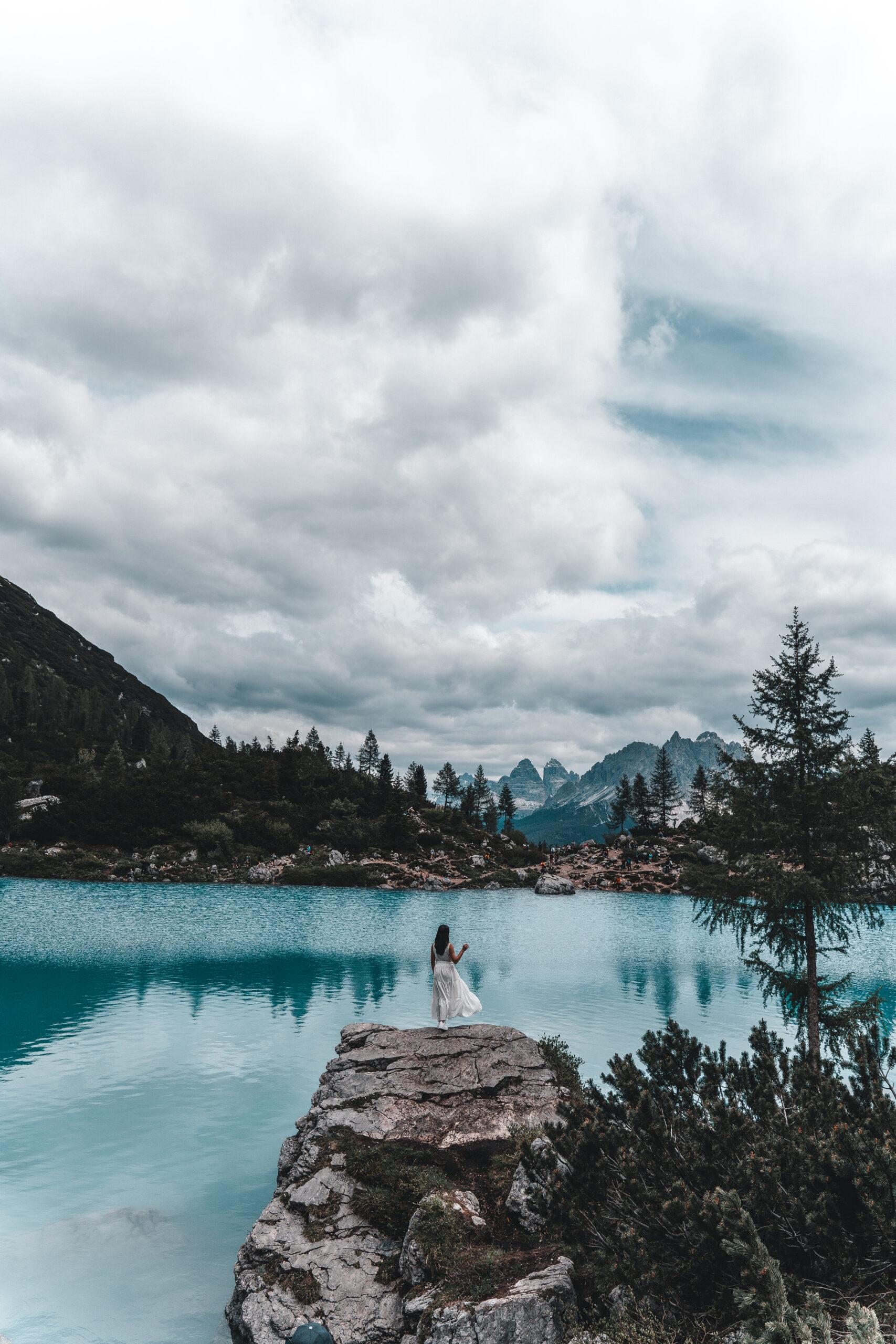 How to hike to Lago di Sorapis