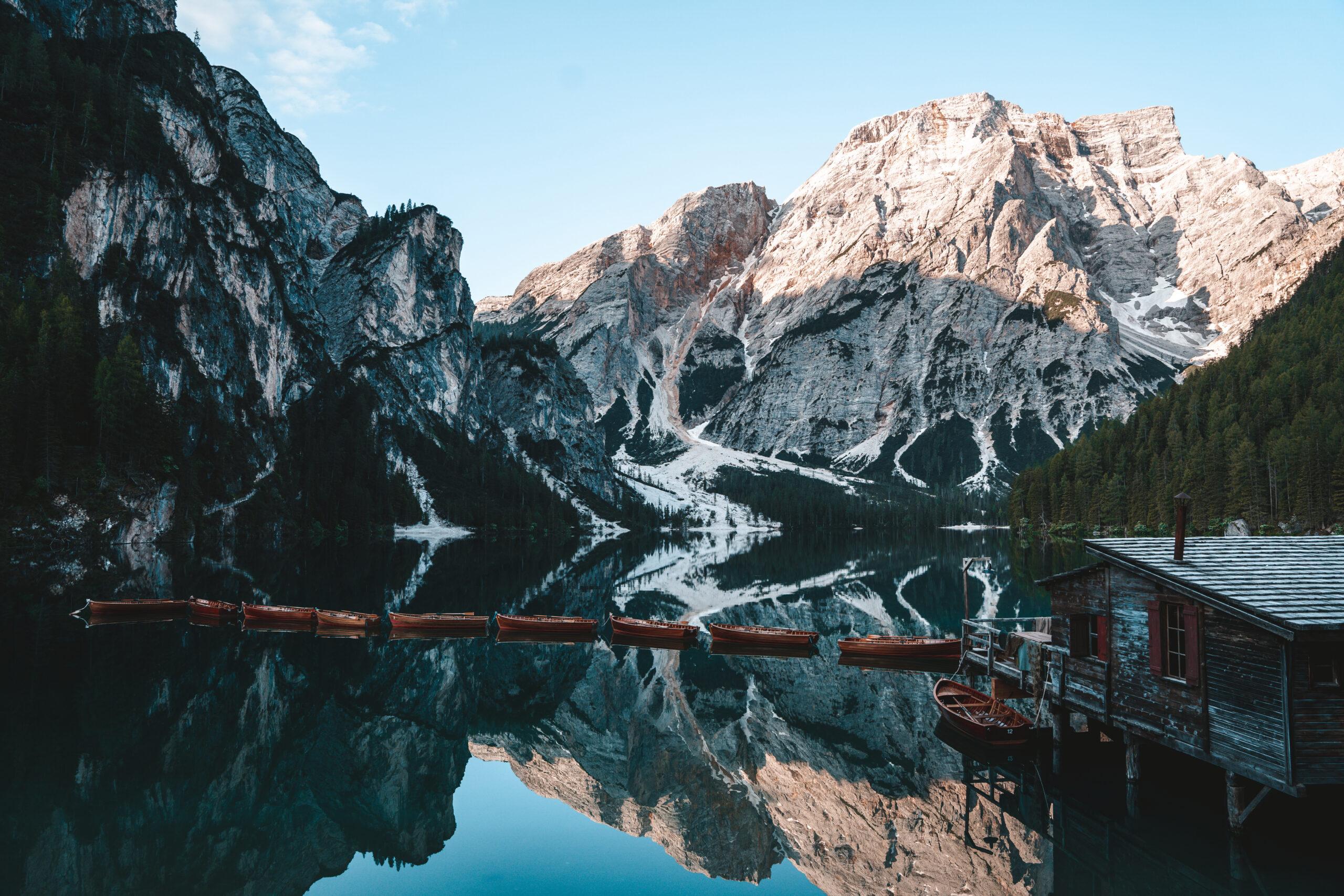 Lago di Braies Photography Landscape