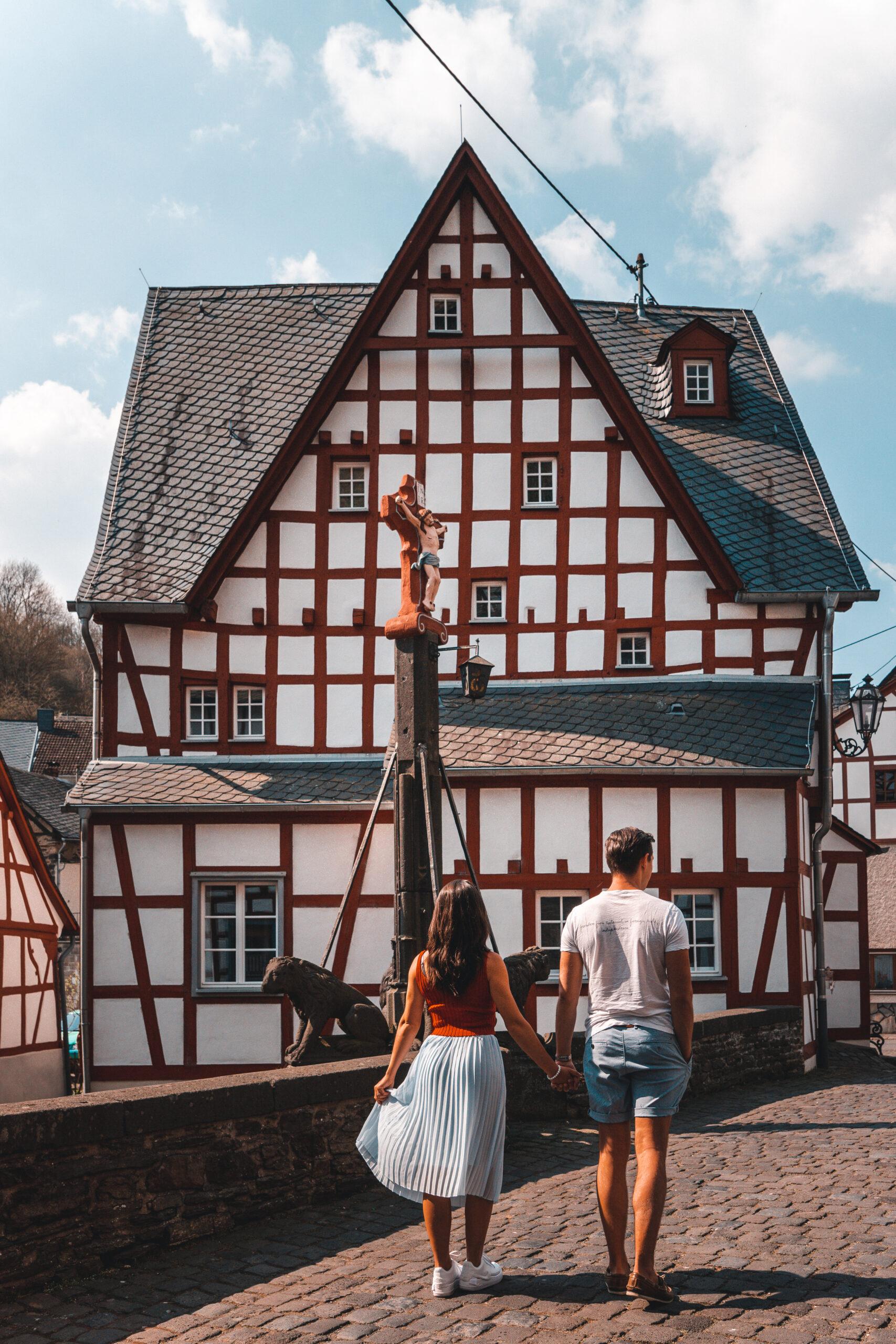 Monreal in the German Eifel