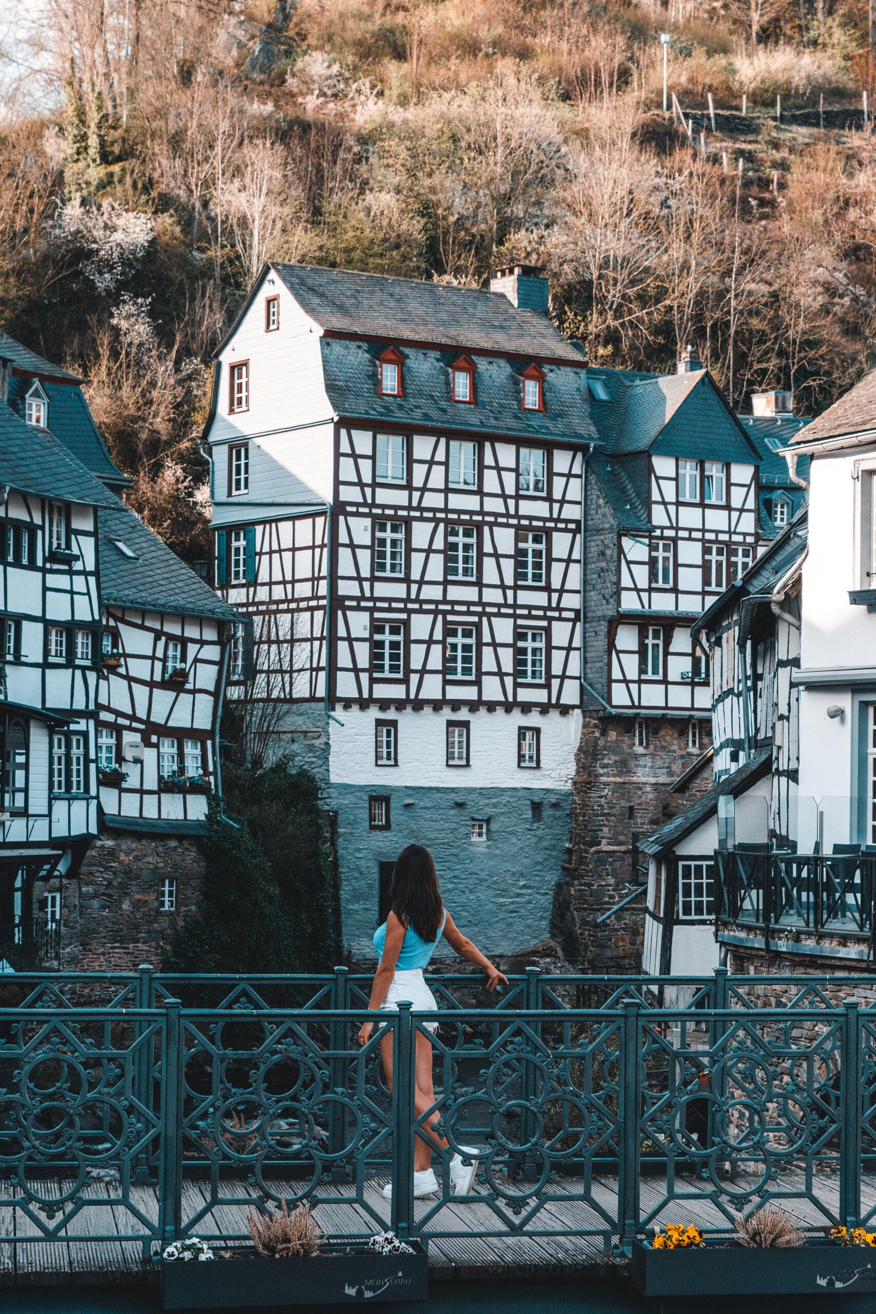 Monschau in the German Eifel