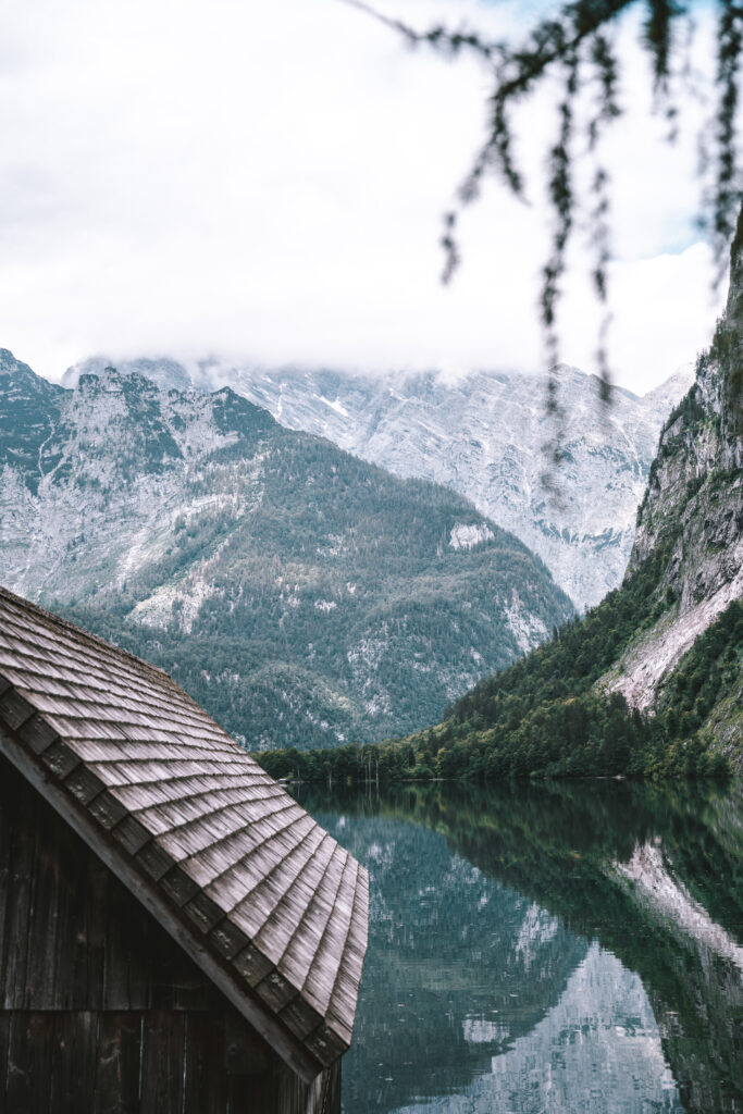 Mountains at Obersee