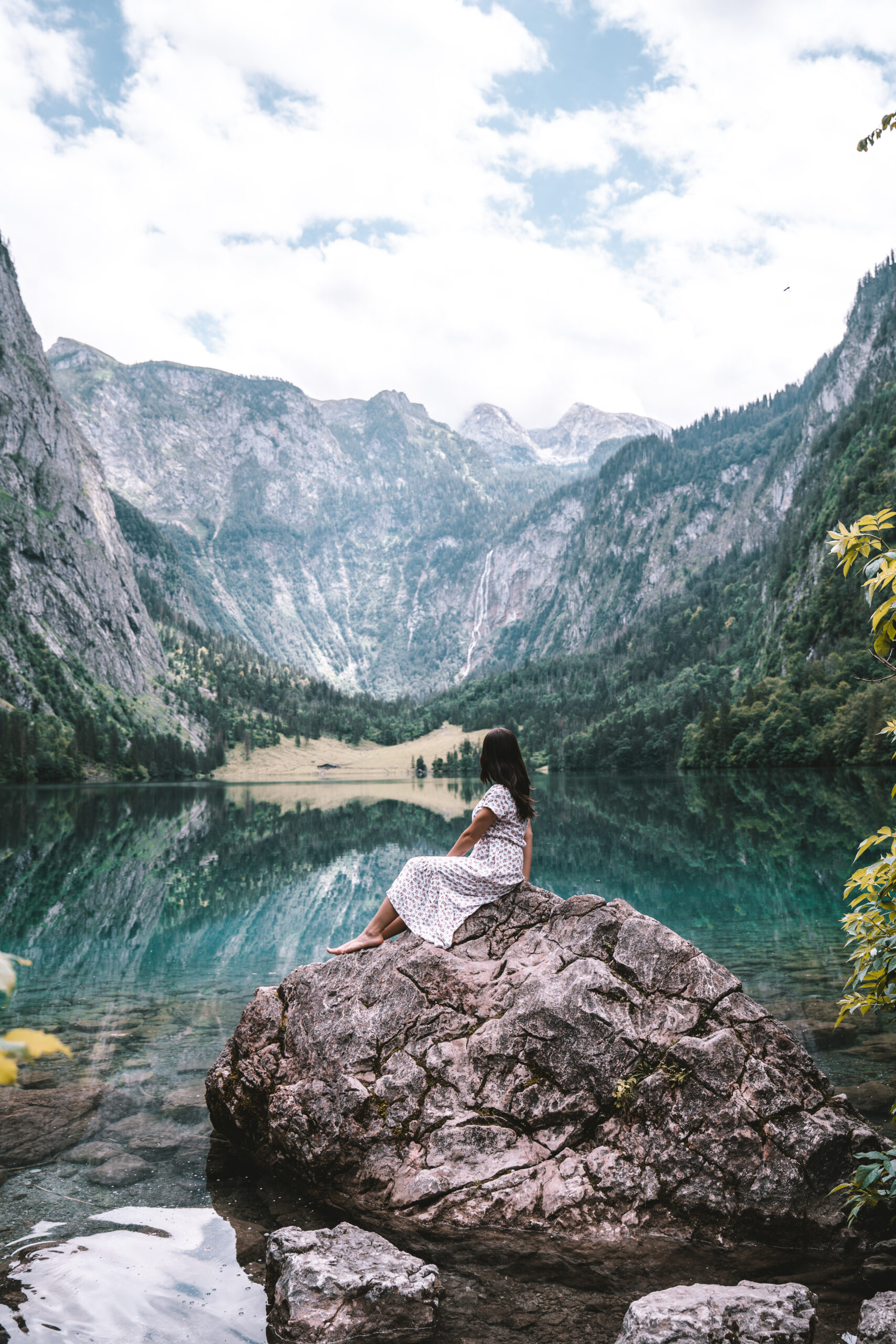 Obersee in Berchtesgaden Germany