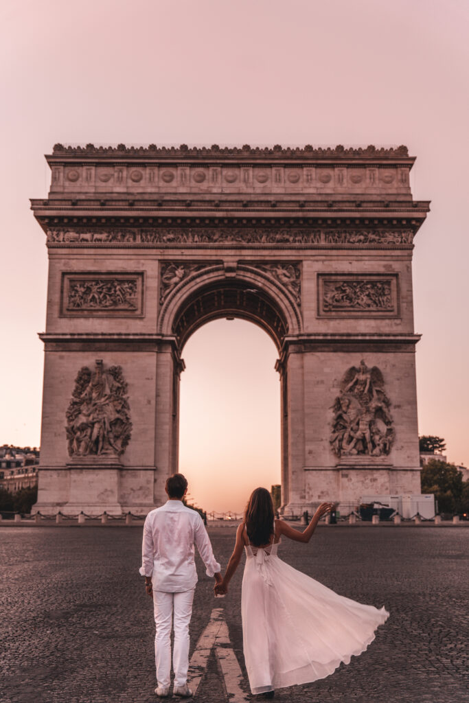 Paris Photo Spots | Arc de Triomphe