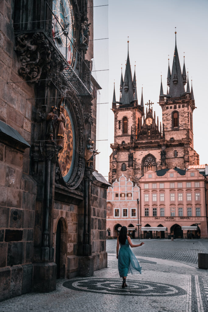 Astronomical Clock Prague | Prague Photo Spots |Prague Photography Locations