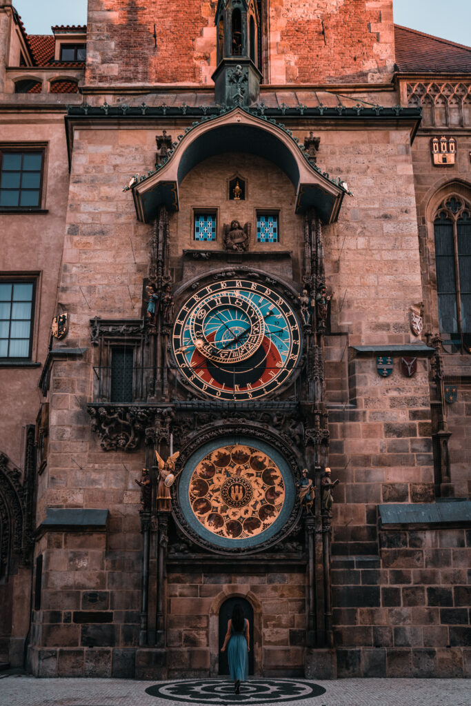 Astronomical Clock in Prague's Old Town |Prague Photography Spots
